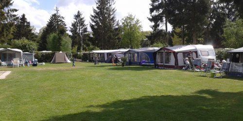 Autovrije kampeerplaatsen 177-181 op camping de Kienehoef Sint-Oedenrode