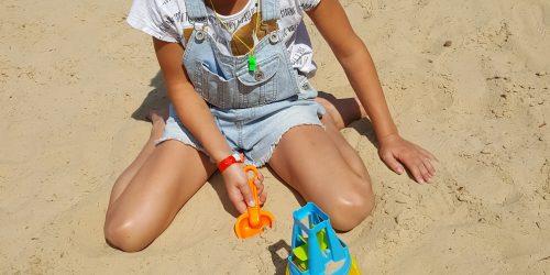 Spelen in het zand van de Kienehoef