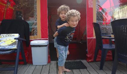 Plezier in de bungalowtent, de Kienehoef
