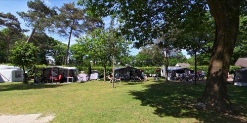 Autovrije kampeerplaatsen met honden